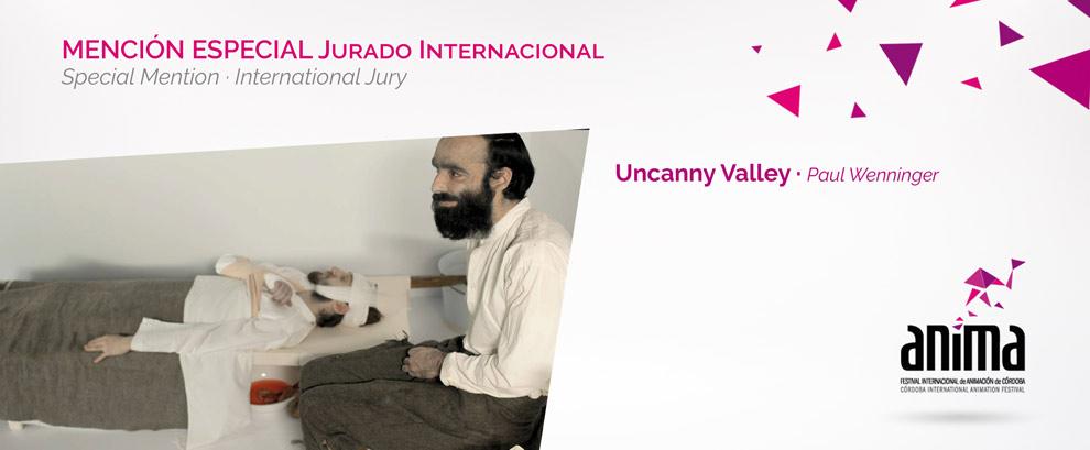 Mención Especial, Jurado Internacional de Cortometrajes: UNCANNY VALLEY, Paul Wenninger