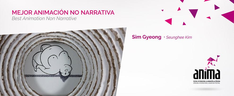 Mejor Animación, No narrativa:  SIM GYEONG, Seunghee Kim