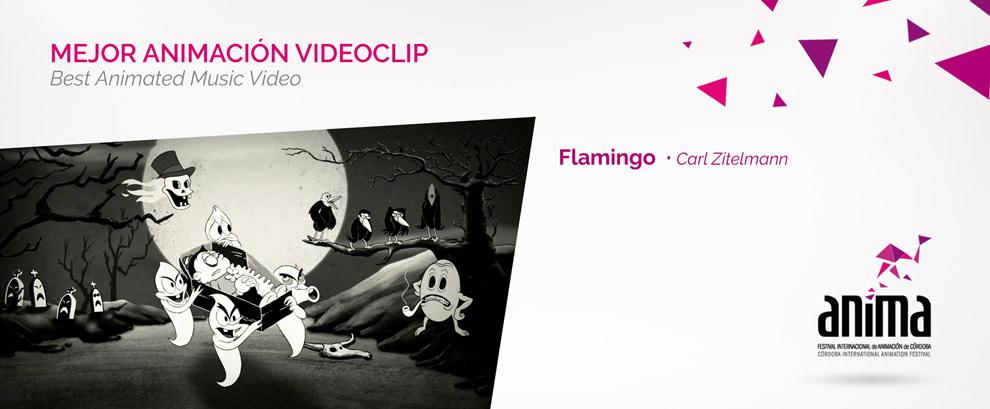 Mejor Animación, Videoclip: FLAMINGO, Carl Zitelmann