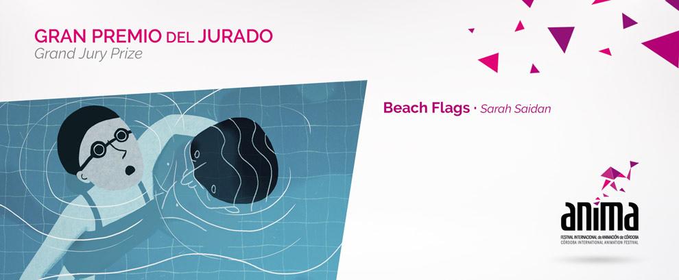 Gran Premio del Jurado: BEACH FLAGS, Sarah Saidan