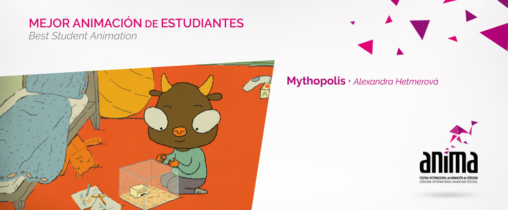 Mejor Animación de Estudiantes: MYTHOPOLIS, Alexandra Hetmerová