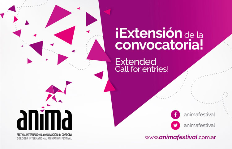 ¡Extensión de la Convocatoria a ANIMA2015! Deadline extension to ANIMA2015!